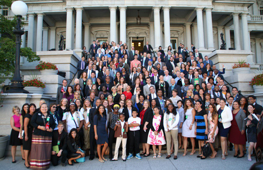 Adam Blumenthal attends White House Summit